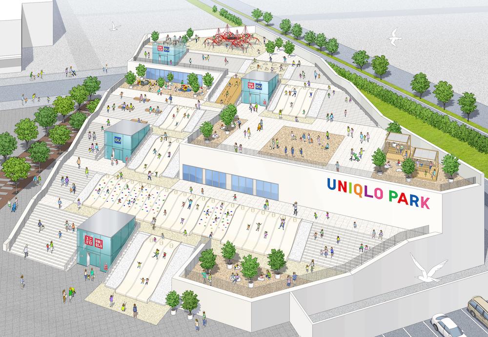 〈UNIQLO PARK 横浜ベイサイド店〉実施例参考イメージ図