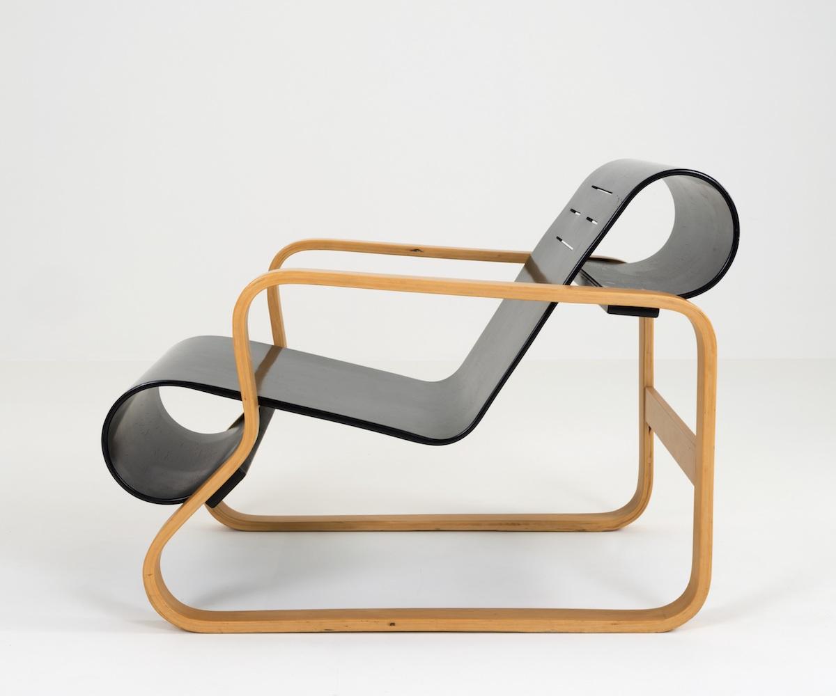 「アイノとアルヴァ 二人のアアルト 建築・デザイン・生活革命 木材曲げ加工の技術革新と家具デザイン」@竹中大工道具館