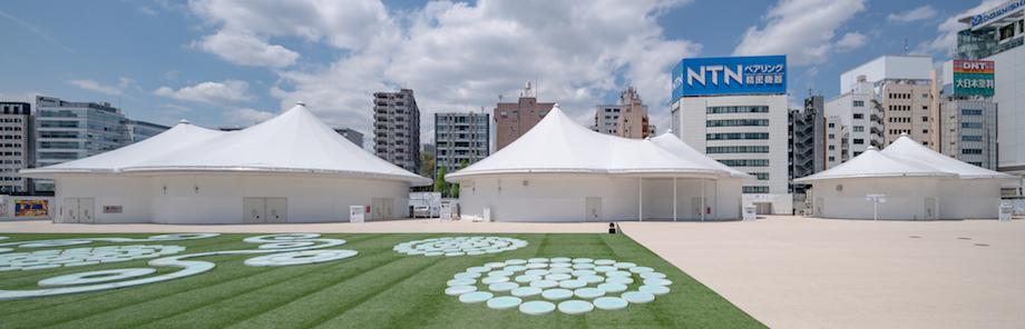 永山祐子建築設計〈Takanawa Gateway Fest(高輪ゲートウェイフェスト)〉