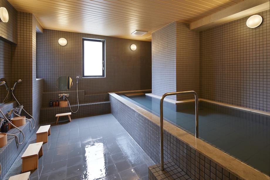〈MUSTARD HOTEL ASAKUSA2〉大浴場