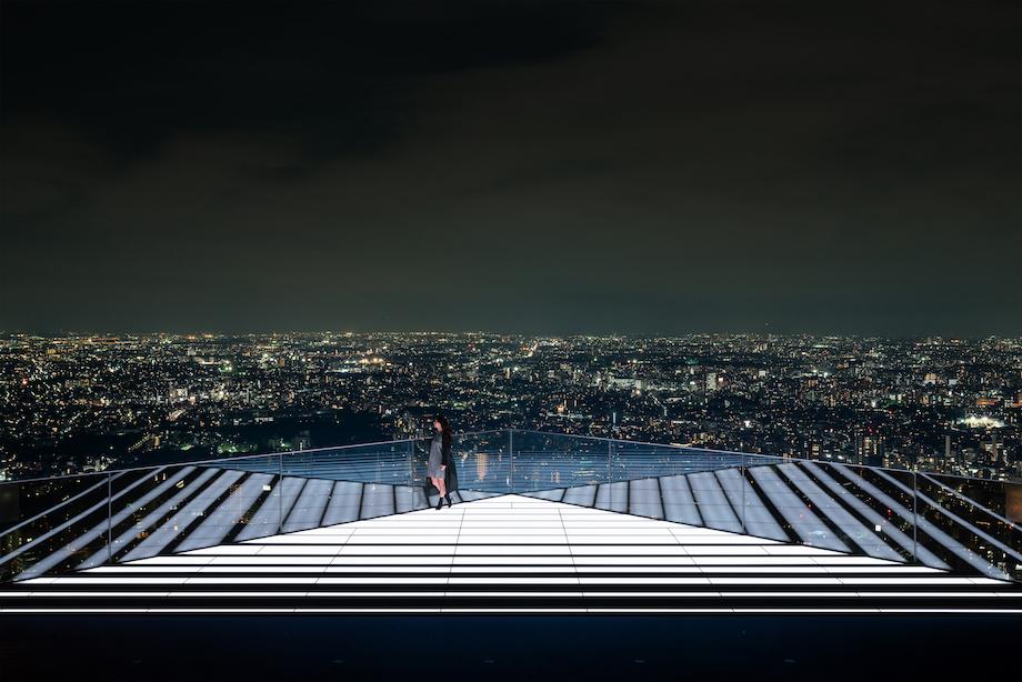 〈渋谷スカイ〉