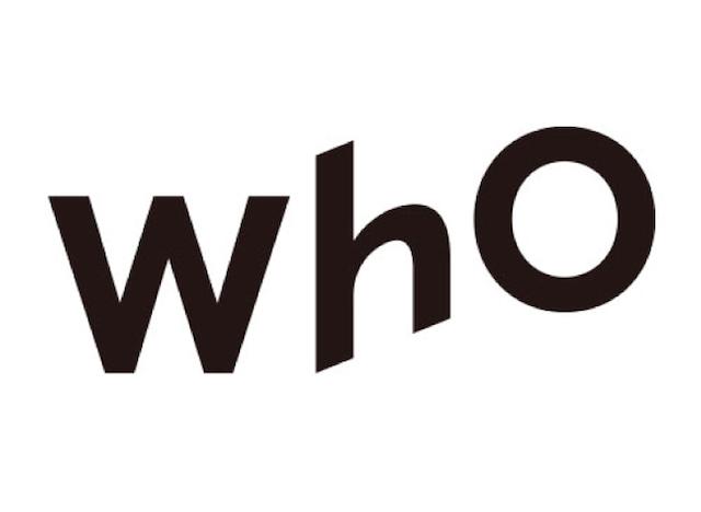 wh0(フー)ロゴ