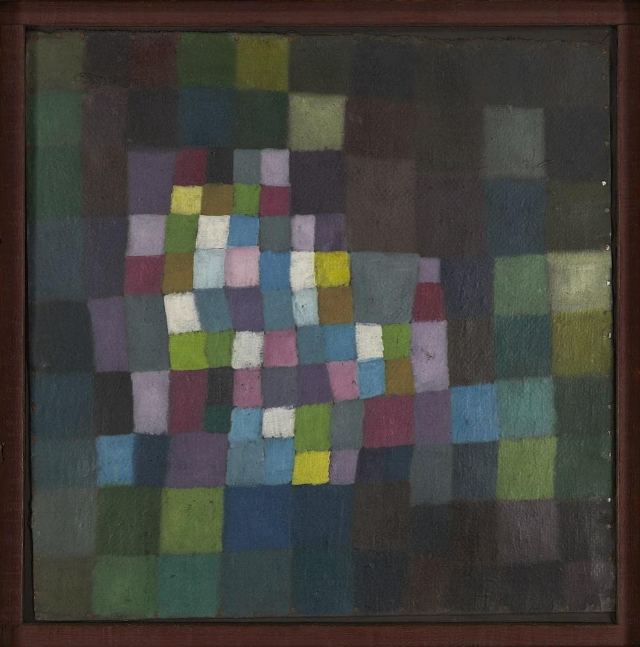 パウル・クレー《花ひらく木をめぐる抽象》1925年、東京国立近代美術館蔵
