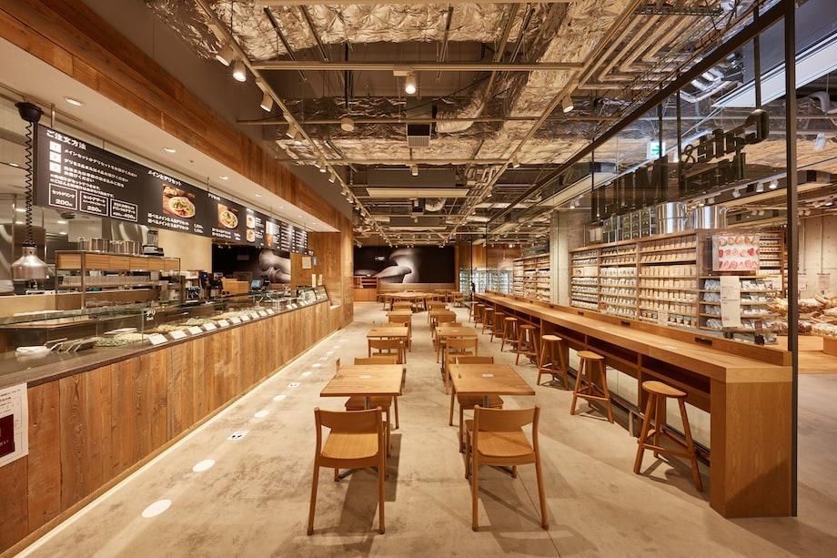 無印良品 東京有明 1F「Cafe & Meal MUJI」