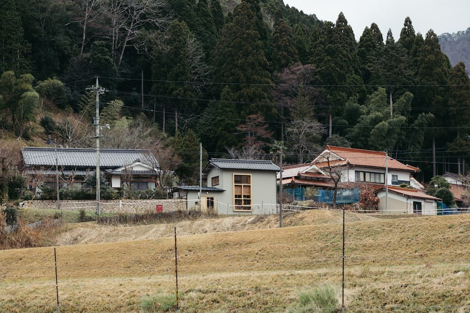 nottuo 新社屋兼フラッグシップストア〈drill store〉遠景
