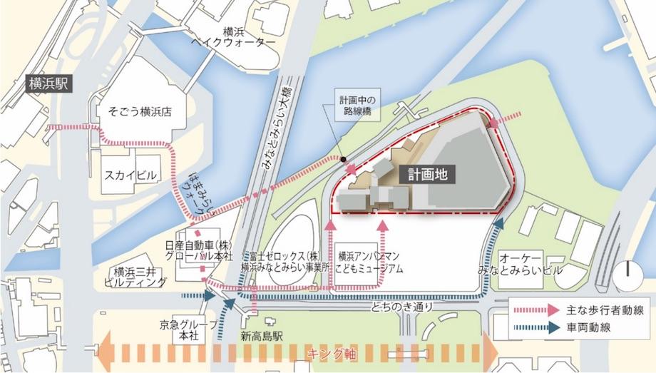 横浜市みなとみらい21(MM21)事業計画 ケン・コーポレーション「K アリーナプロジェクト」