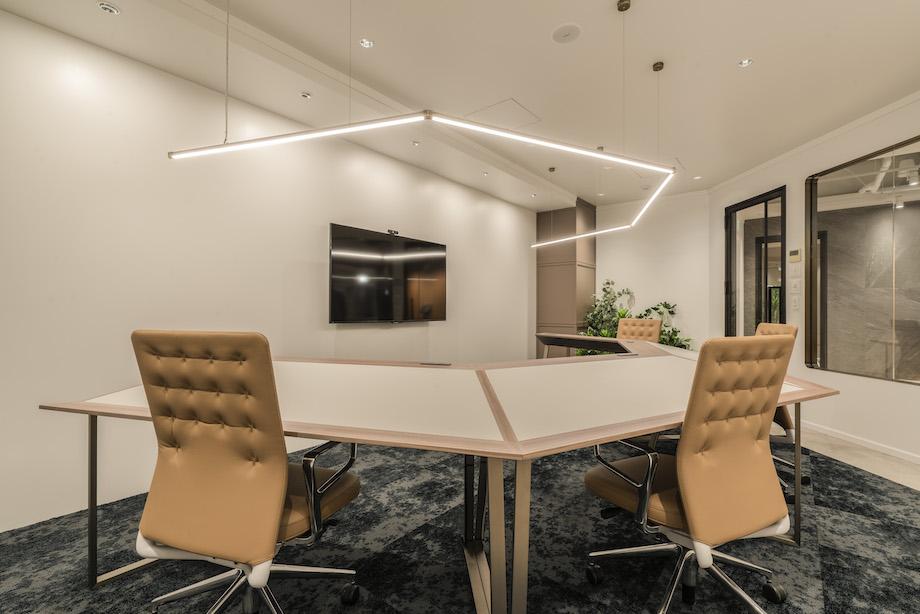 次世代型オフィス「SET UP OFFICE(セットアップ)銀座」